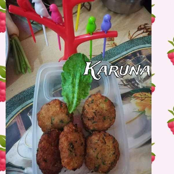 How to make palak soya bean Cutlet,