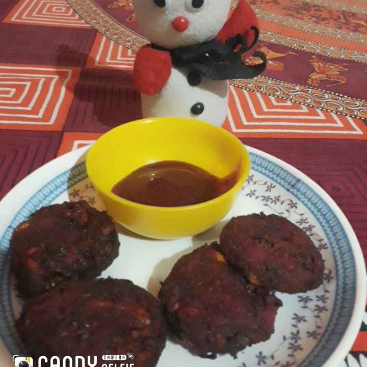 Photo of Beetroot cutlet by Karuna Chandwani at BetterButter