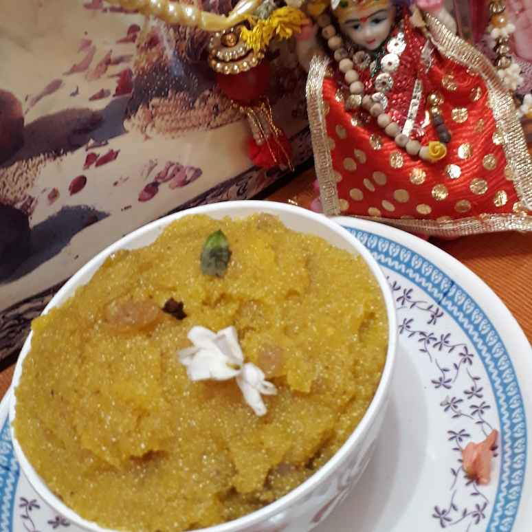 How to make Kesari bath