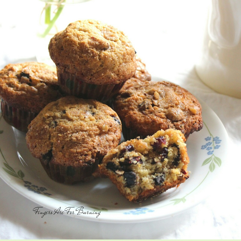 How to make Cranberry Chocolate and Streusel Muffins