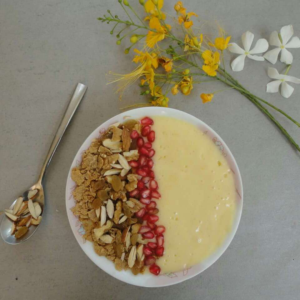 Photo of Mango & Pineapple Smoothie Bowl by Karuna Kumar at BetterButter