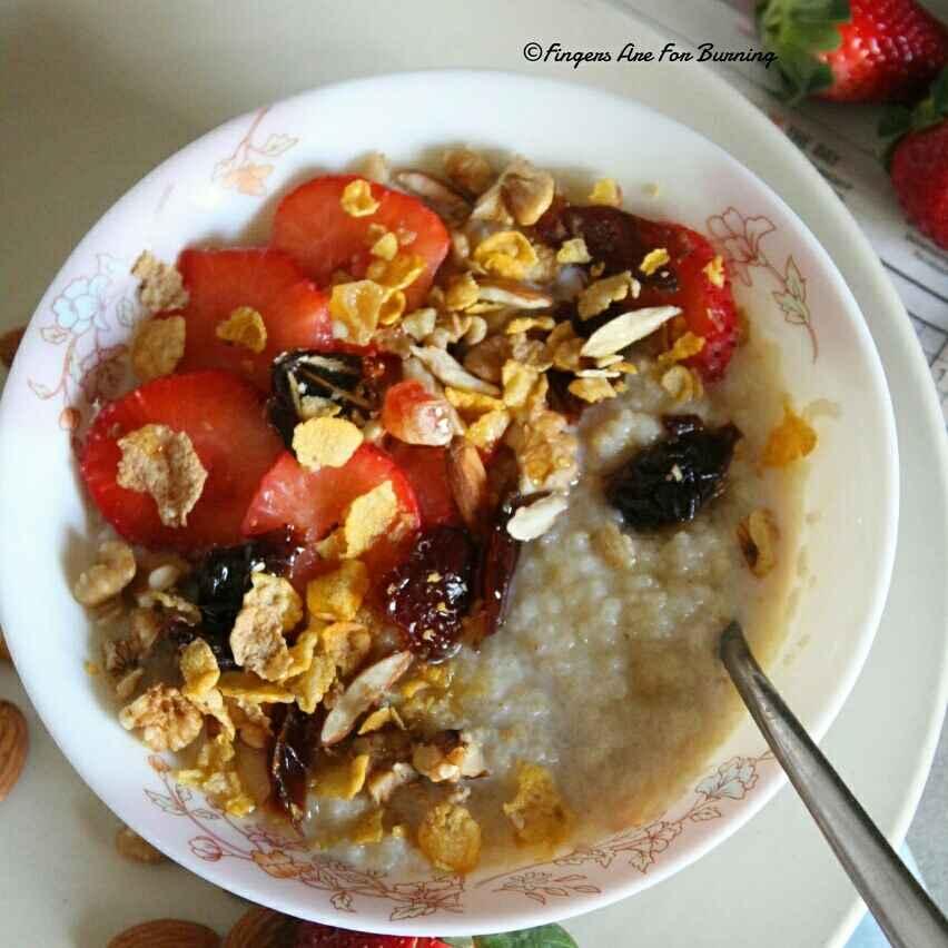 How to make Organic Millet Porridge