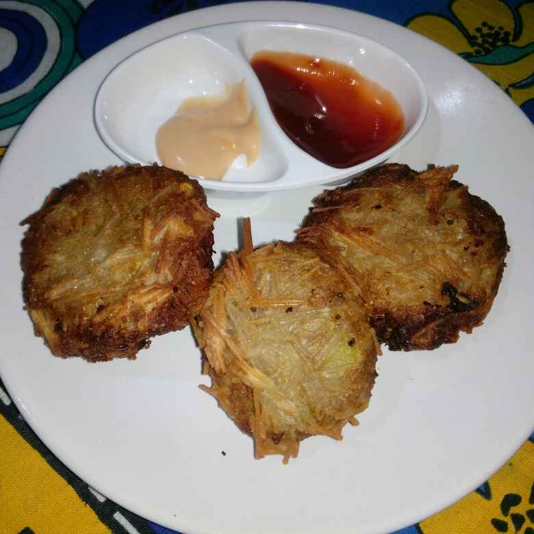 Photo of Sweet corn crispy cutlet by Karuna Pooja at BetterButter