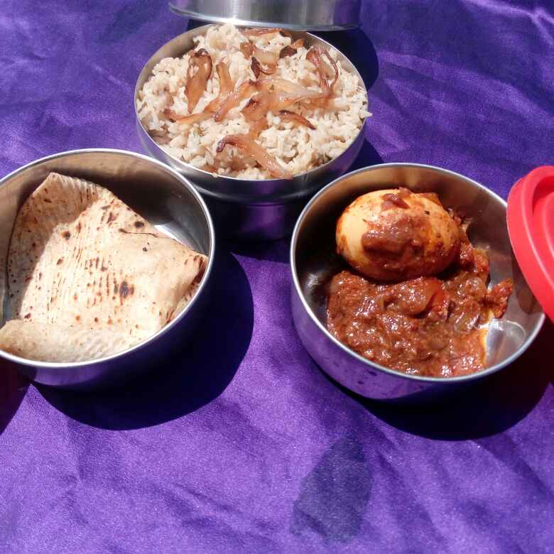 Photo of Veg college lunch box by Karuna Pooja at BetterButter