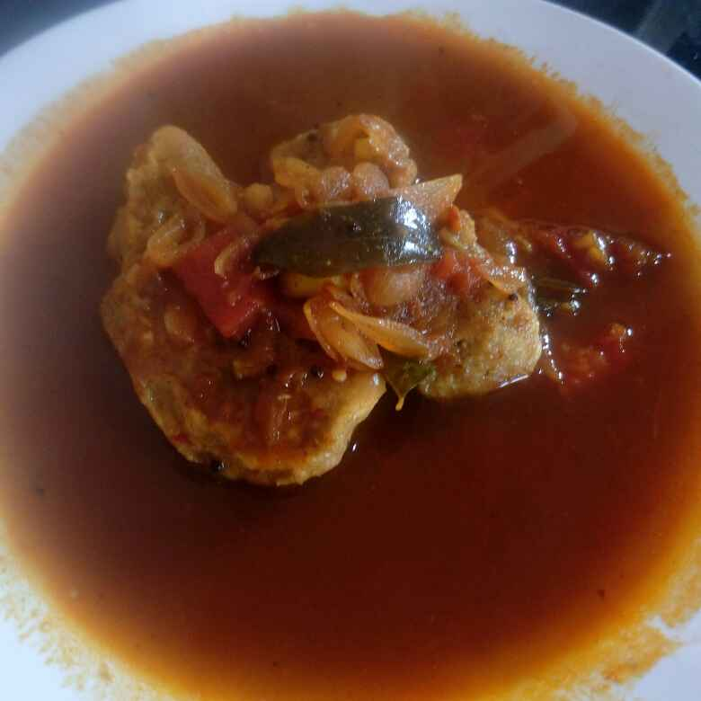 Photo of Veg - fish curry by Karuna Pooja at BetterButter