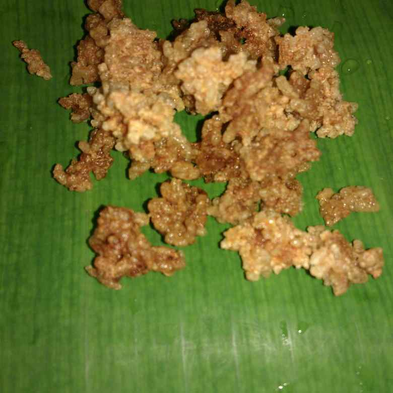 How to make Leftover rice vadagam