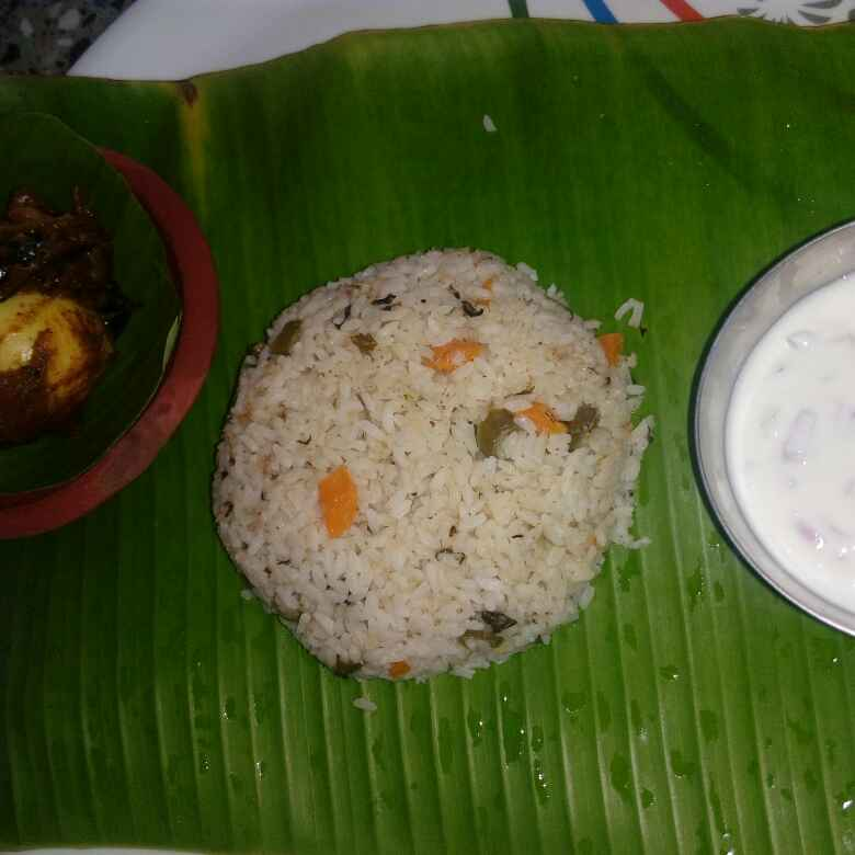 Photo of Veg Coconut Milk Pulao by Karuna pooja at BetterButter