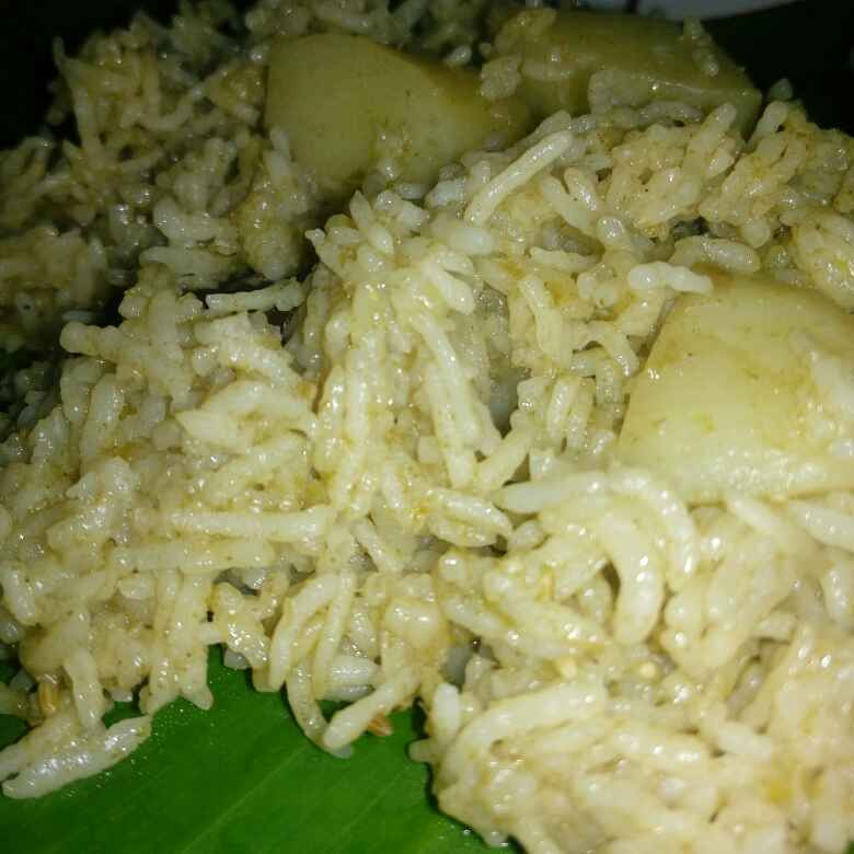 Photo of Haryana aloo pulao by Karuna pooja at BetterButter