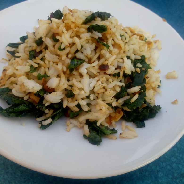 Photo of Moringa  leaf masala rice by Karuna pooja at BetterButter