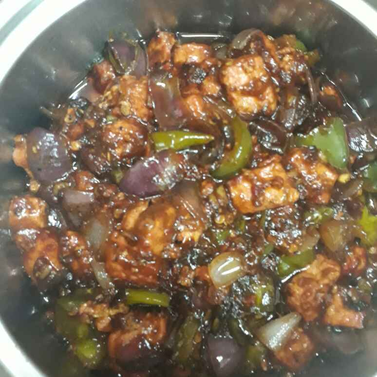 How to make Chilli Paneer (Semi Dry)