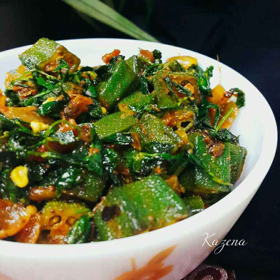 Photo of Methi okra by Kathija Lathif at BetterButter