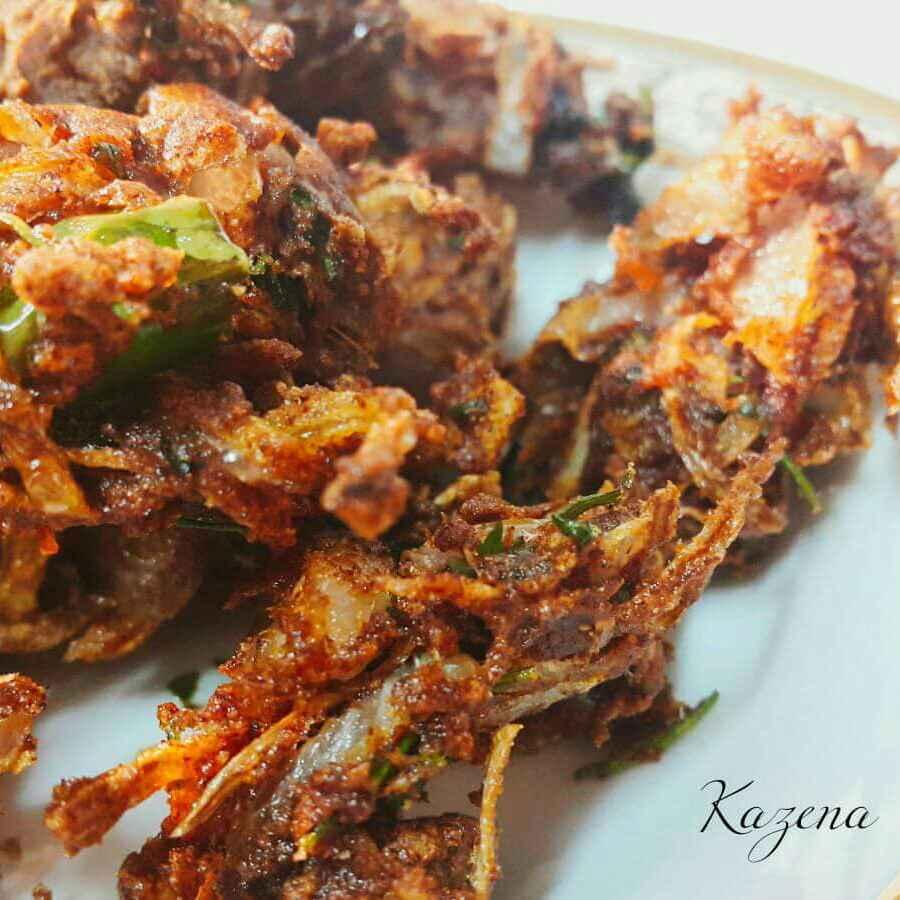 Photo of Ragi pakora by Kathija Lathif at BetterButter