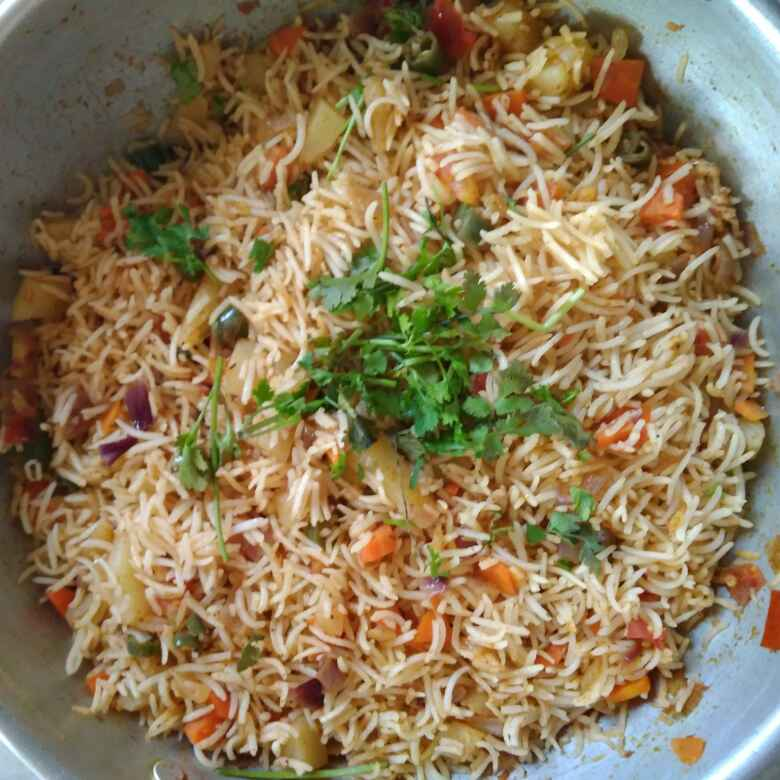 How to make Tawa pulao