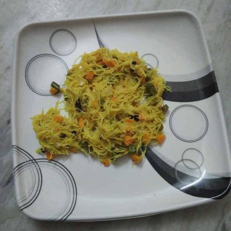 How to make Vegetable semiya