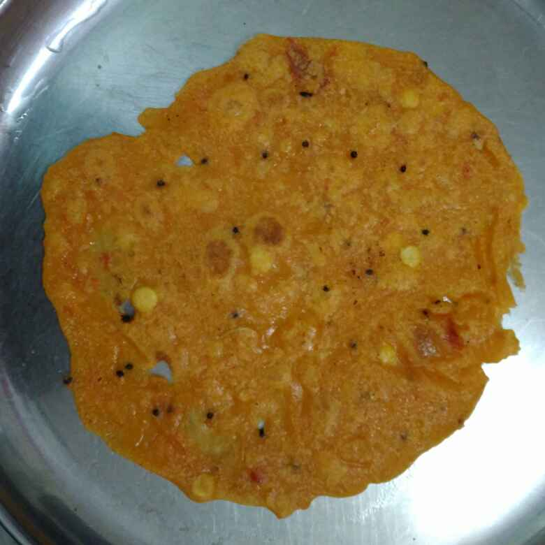 How to make Pumpkin Adai