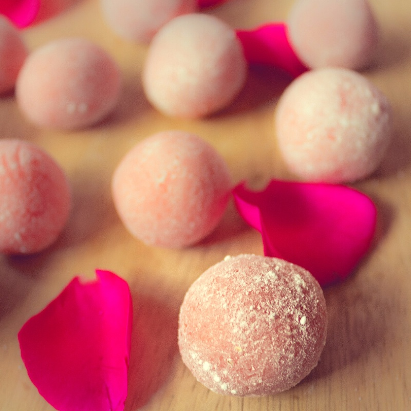 Photo of Rose Chocolate Truffles  by Kaveri Obhan at BetterButter