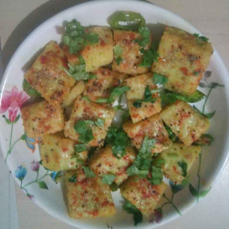 Photo of Dhokla. by Kavi Nidhida at BetterButter
