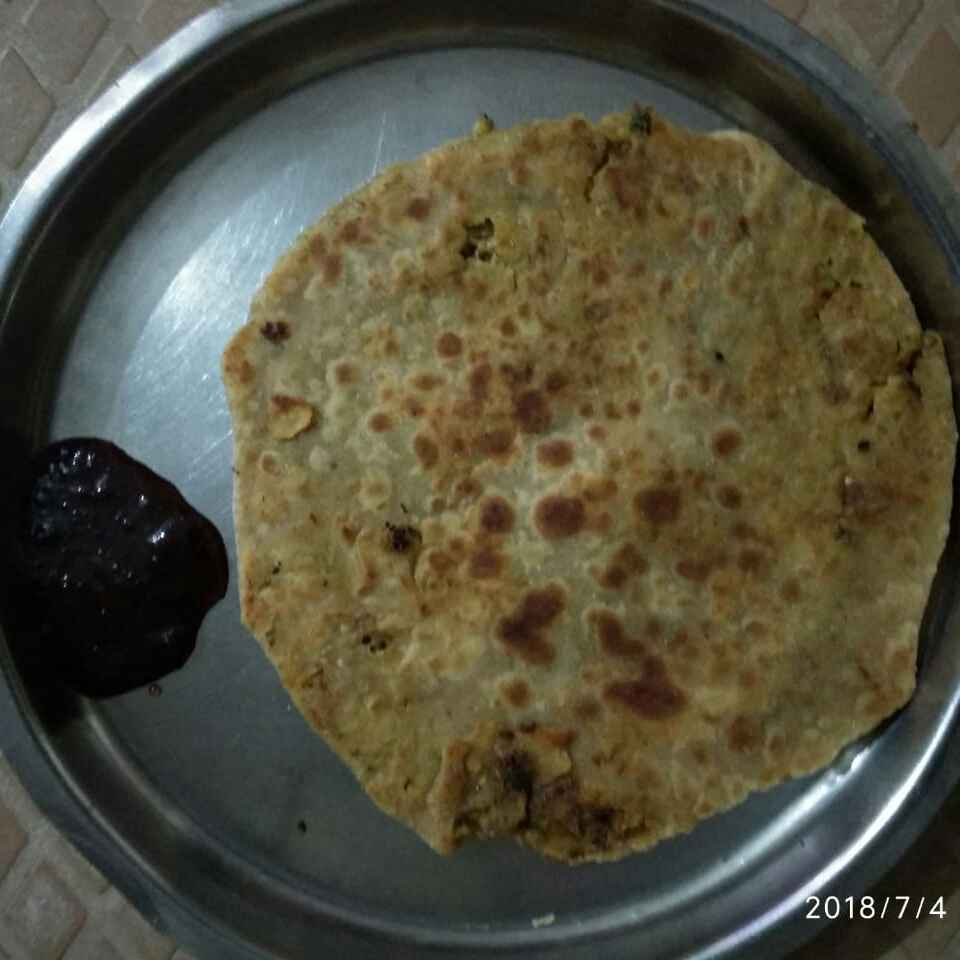Photo of Sprout stuffed paratha by Kavi Nidhida at BetterButter
