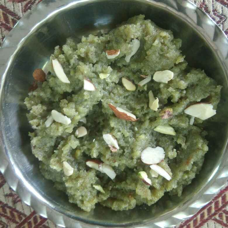 Photo of Green gram halwa. by Kavi Nidhida at BetterButter