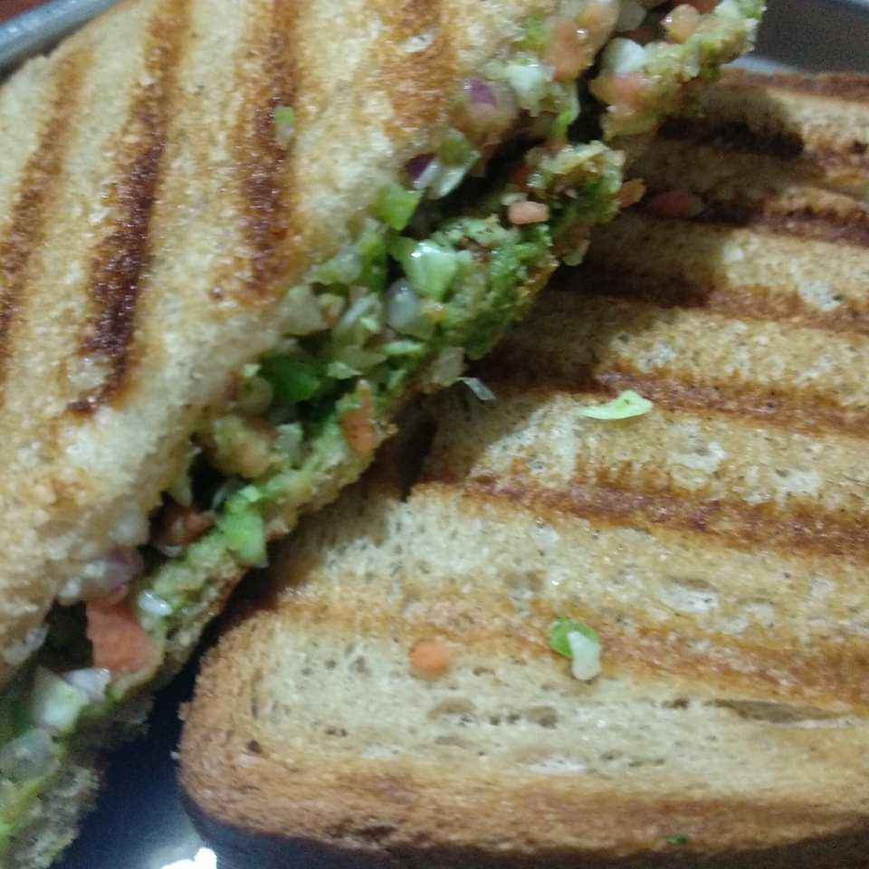 Photo of Veg grilled sandwich by Kavi Nidhida at BetterButter