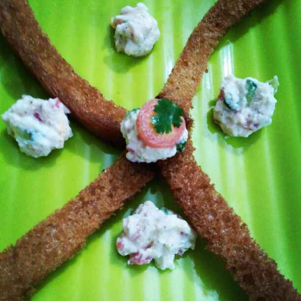 How to make Bread sticks with curd dip