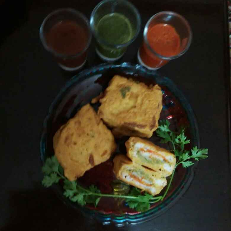 Photo of Cheesy pakora by Kavita S at BetterButter