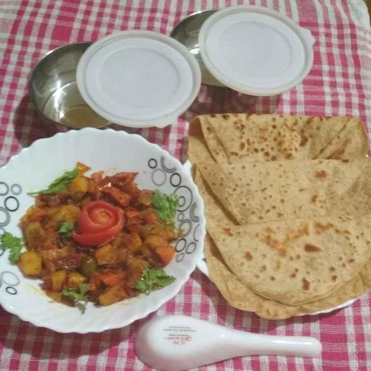 Photo of Mix sabji or parathe by Kavita Sukhani at BetterButter