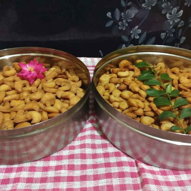 Photo of Mithe namkeen kaju by Kavita Sukhani at BetterButter