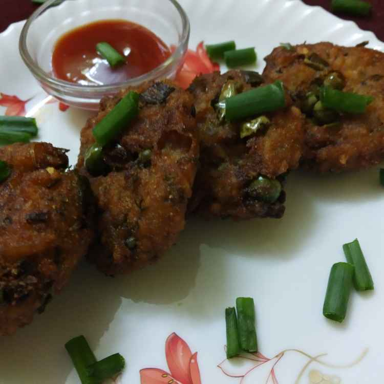 Photo of Poha aalu cutlets by Kavita Sukhani at BetterButter