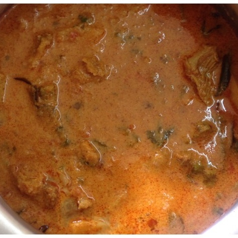 How to make Mutton Gravy/Mutton Kulambu