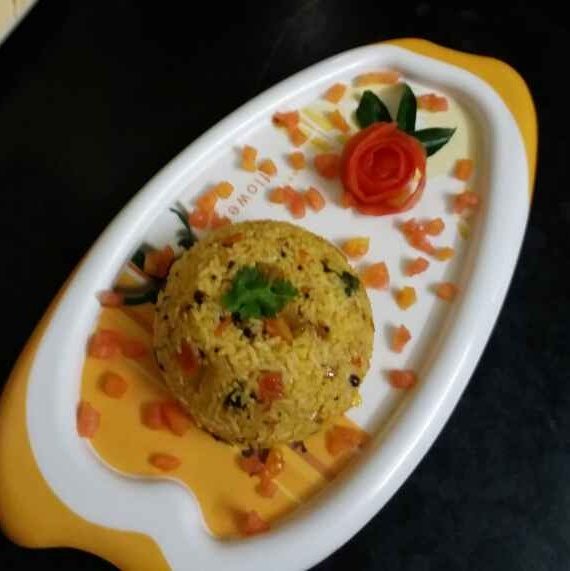 How to make టమాటా రైస్