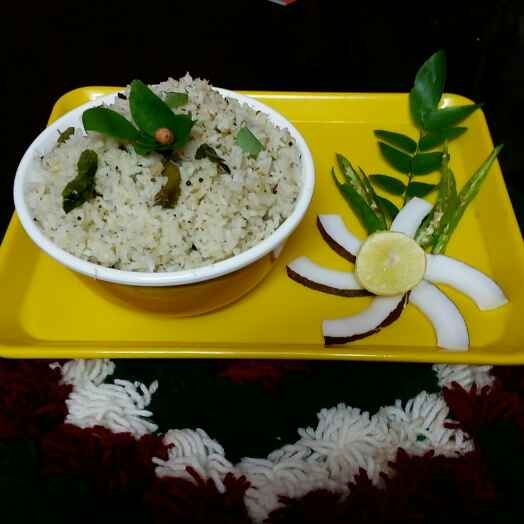 Photo of coconut  rice by Kavitha Perumareddy at BetterButter