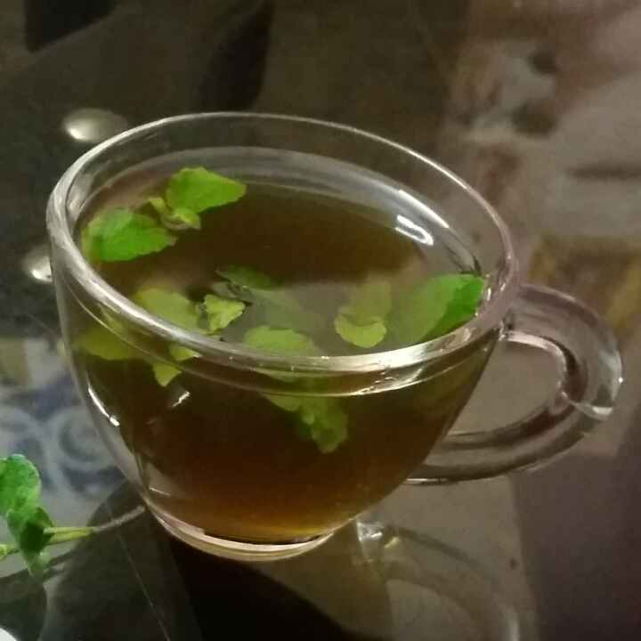 Photo of TULASI leaves ginger tea by Kavitha Perumareddy at BetterButter