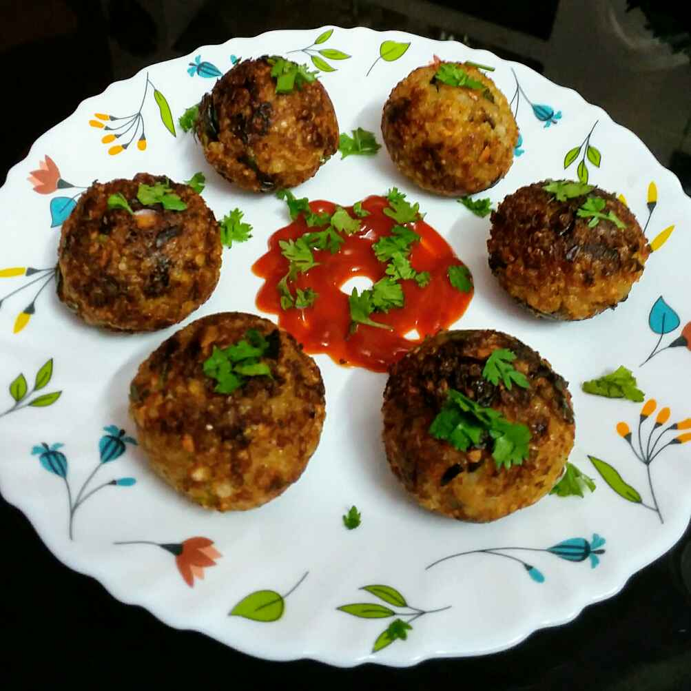 Photo of coriander sago balls  by Kavitha Perumareddy at BetterButter