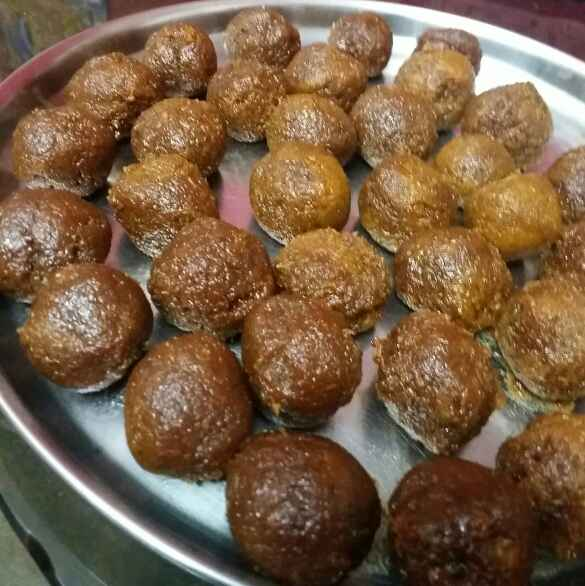 Photo of Coconut jaggery balls by Kavitha Perumareddy at BetterButter