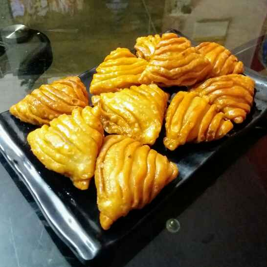 Photo of Dry fruits sweet samosa by Kavitha Perumareddy at BetterButter