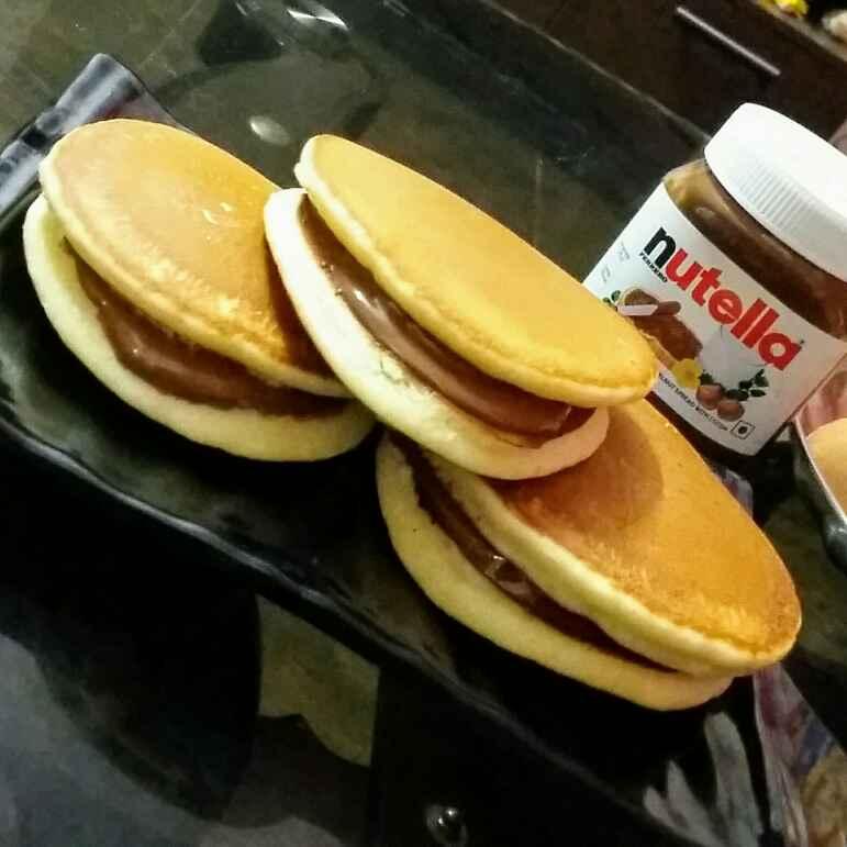 Photo of Nutella dora pan cake by Kavitha Perumareddy at BetterButter