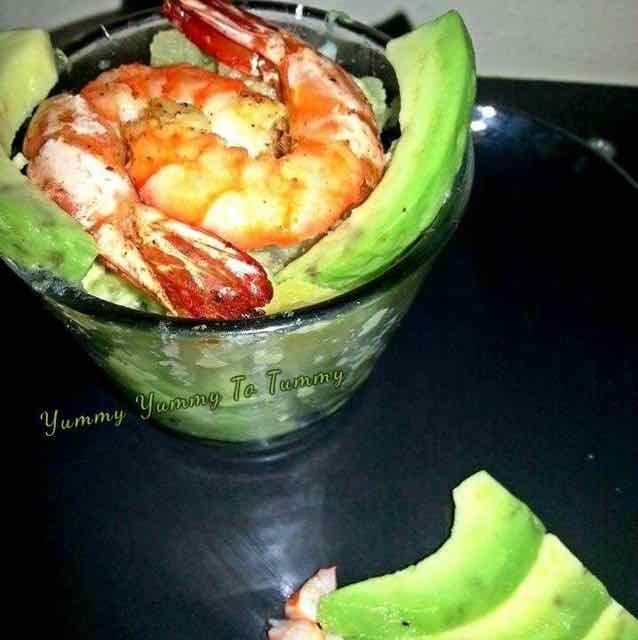 How to make Shrimp Avocado Potato Salad