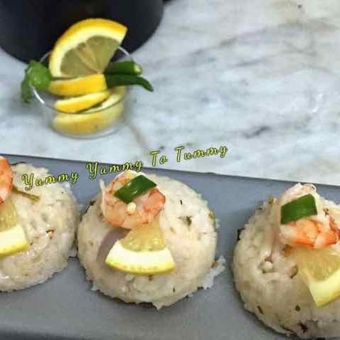 How to make Prawns Garlic Lemon Rice