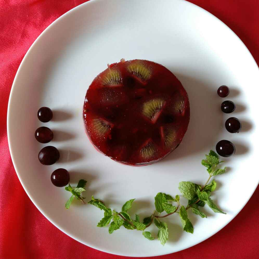 How to make Fruit chat cake