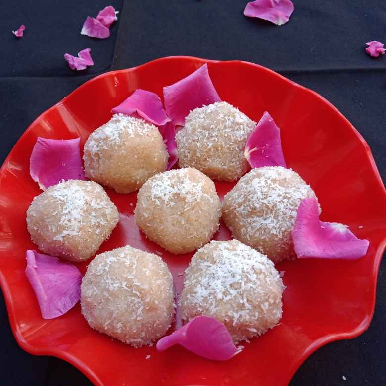 Photo of Coconut ladoo by Keertika Tewatia at BetterButter