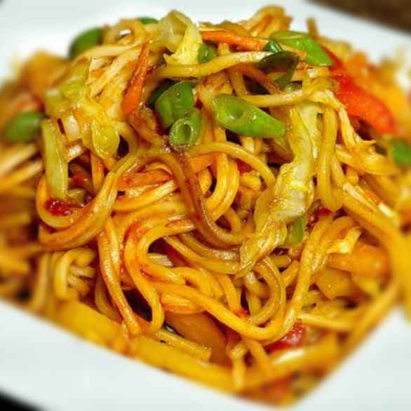 Photo of Hakka noodles by केतकी पारनाईक at BetterButter