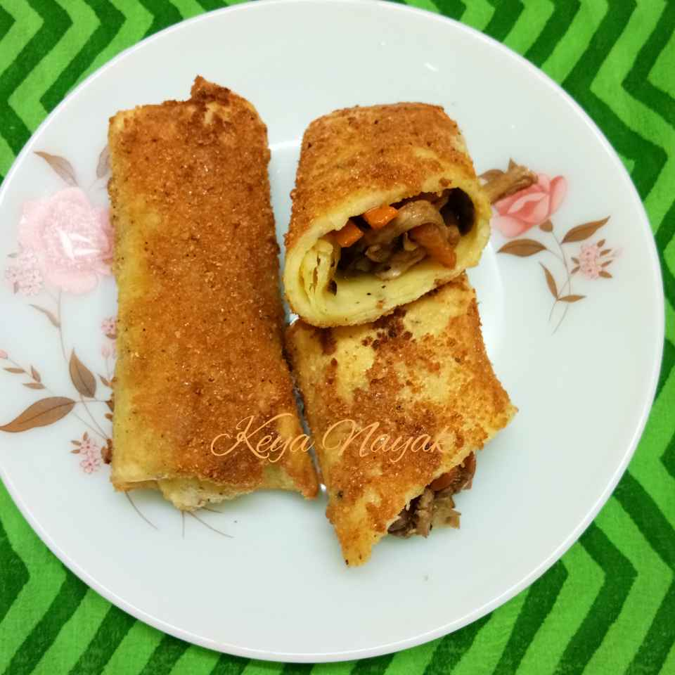 How to make Chicken Spring Roll
