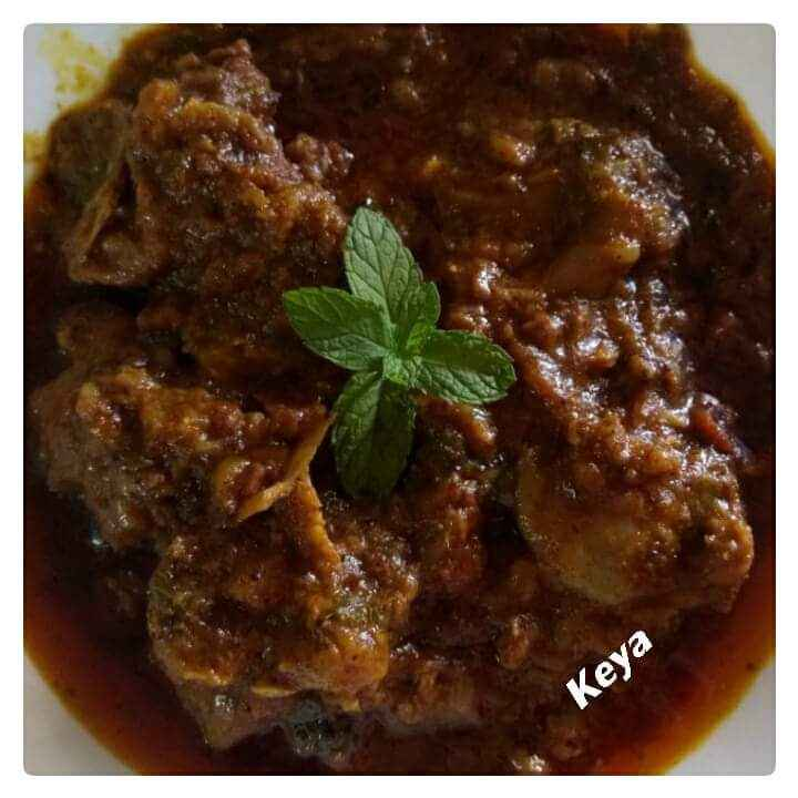 Photo of Mutton Rara by Keya Nayak at BetterButter