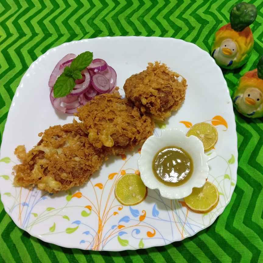 Photo of Prawn Malai Kebab Kabiraji by Keya Nayak at BetterButter