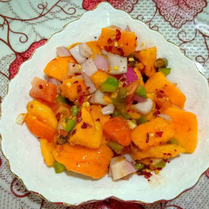 Photo of Mango Salsa by Keya Nayak at BetterButter