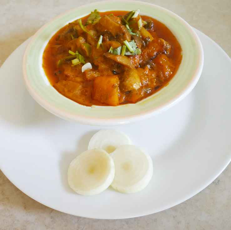 Photo of Potato Matar mushroom Curry by Hanzala Khan at BetterButter