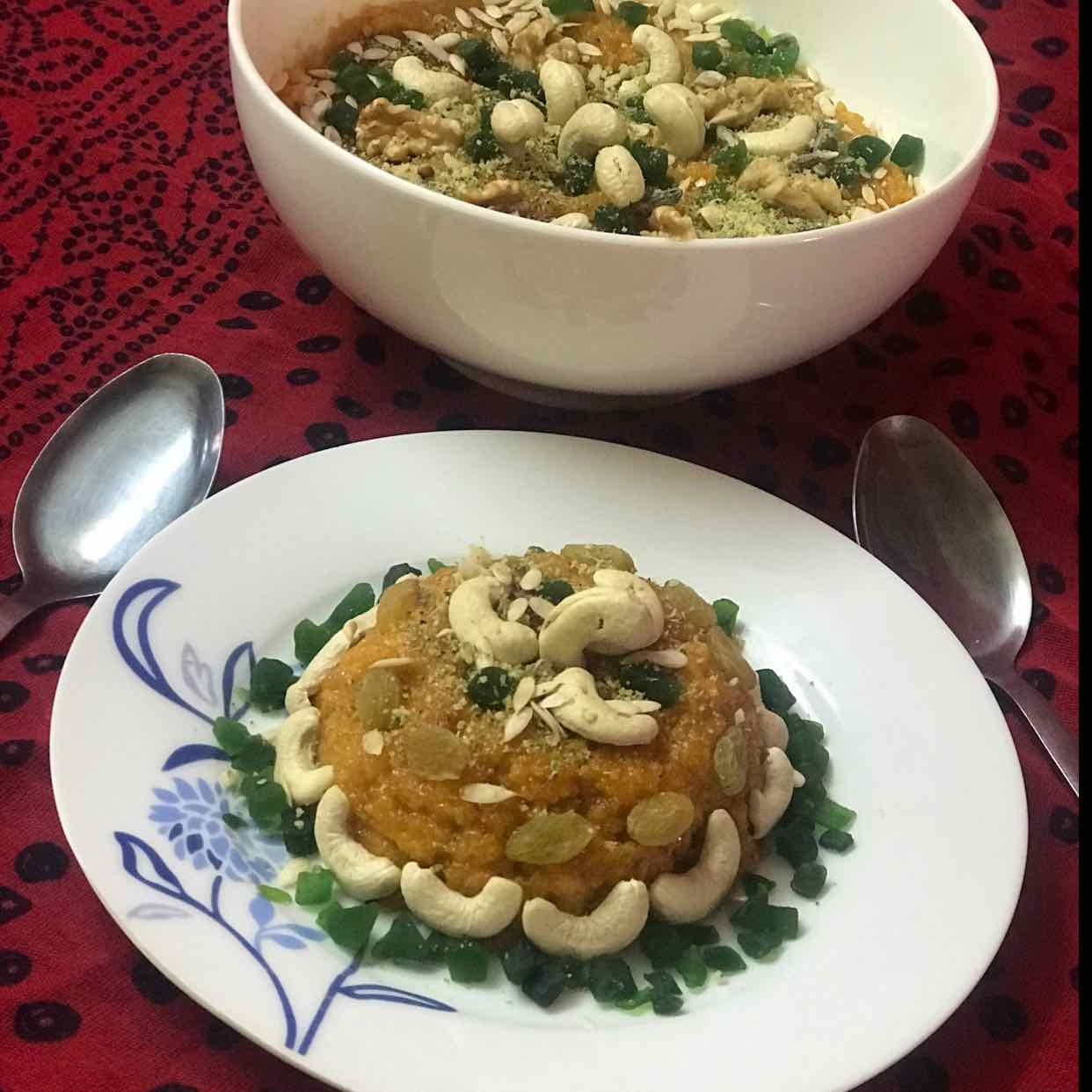 Photo of Paneer Carrot Halwa by Khushboo Batra at BetterButter