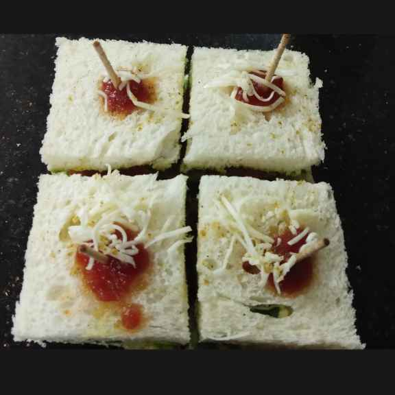 Photo of Bom. Veg cheese sandwich by Khushboo Doshi at BetterButter