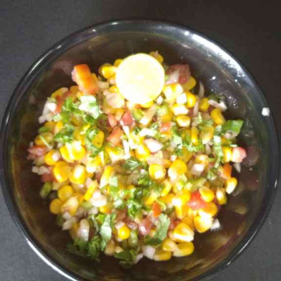 Photo of Spicy cheese corn chat. by Khushboo Doshi at BetterButter